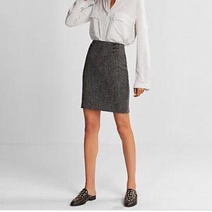 Tweed express skirt
